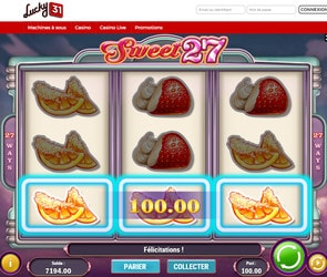 Jouez à la machine à sous Sweet Party sur Casino.Com Canada