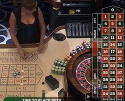 Roulette Ezugi en direct du Casino oracle de Malte