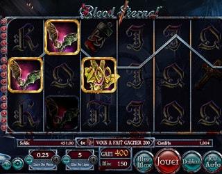 Machine à sous Blood Eternal de Betsoft
