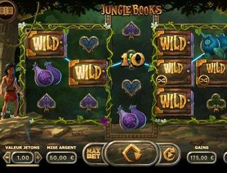 Machine à sous Jungle Books de Ydggdrasil