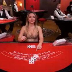 Blackjack en live sur Fotrunejack Casino