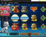 Machine a sous Wolf Club de Netent sur Casino Extra