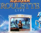 Live Roulette Age of the Gods, une roulette progressive de Playtech