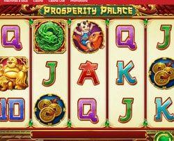 Machine à sous Prosperity Palace de Play'n Go sur Lucky31 Casino