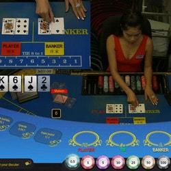 Baccarat en direct du Queenco Casino sur Dublinbet