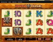 Machine à sous King Tusk de Microgaming débarque sur Casino Extra