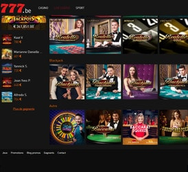 777 casino belgique