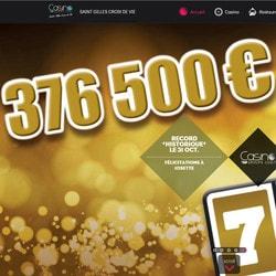 Jackpot progressif après un rêve prémonitoire au Casino Saint Gilles Croix de Vie
