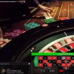 roulette casino en live du