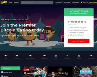 mBit casino, meilleur casino en ligne Bitcoin