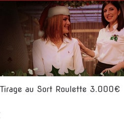 Tombola aux tables live roulette Authentic Gaming sur Lucky31 Casino