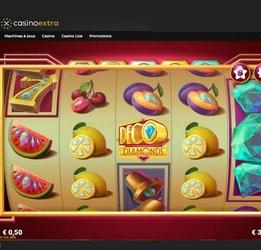 La machine à sous Deco Diamonds disponible sur Casino Extra
