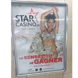 Publicité jugée sexiste de Starcasino, casino en ligne légal en Belgique