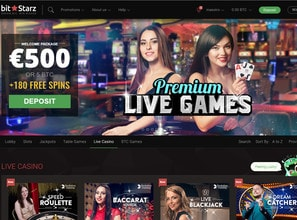 Bitstarz Live Casino avec Bitcoin