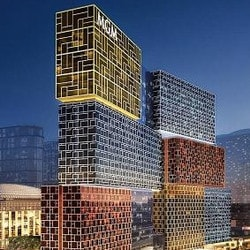 Ouverture du Casino Hotel MGM Cotai a Macao