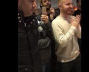 Jack Cody et Rob Yong avant le jackpot a la roulette