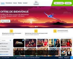 Azur Casino avec Croupiers en Direct
