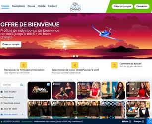 Azur Casino avec Croupiers en Direct