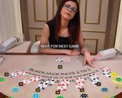 Blackjack en ligne Evolution Gaming pour joueurs debutants