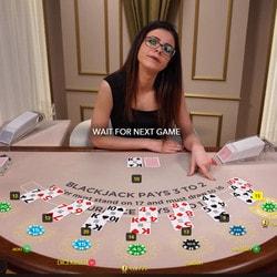 Blackjack en ligne Evolution Gaming Vs Visionary Igaming