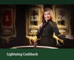 Recevez un bonus cashback sur Lightning Roulette sur Dublinbet