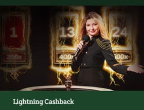 Lightning Roulette : Bonus Cashback sur Dublinbet Casino
