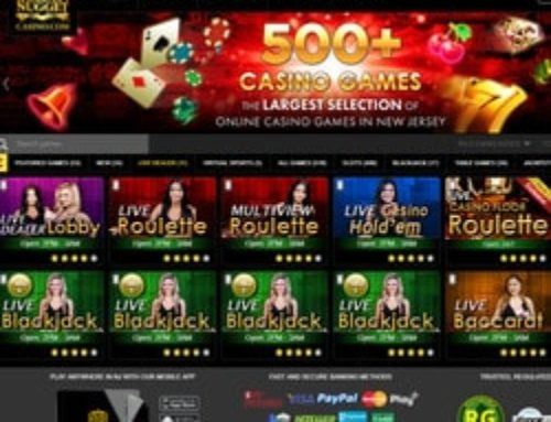 Roulette en ligne Ezugi en direct du Golden Nugget Casino (USA)