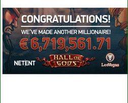 Un joueur décroche le jackpot progressif Hall Of Gods sur Casino Mobile