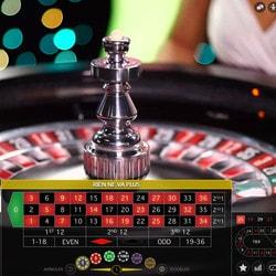 Live roulette sur Azur Casino