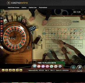 Roulette 360 du Oracle Casino