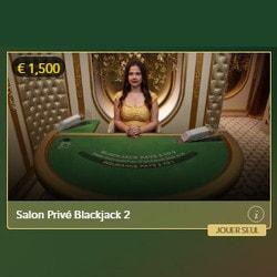 Blackjack Salon Privé