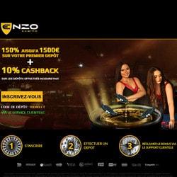 Enzo Casino sur Croupiers en Direct