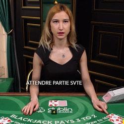 Dublin Blackjack 2 : table de blackjack en ligne exclusive a 3 casinos