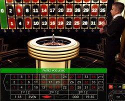 Live Lightning Roulette en ligne pour gagner jusqu'a 500 fois sa mise