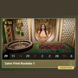 Roulette Salon Privé