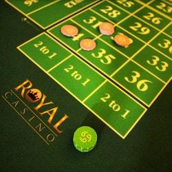 Roulette en ligne Authentic Gaming en direct du Royal Casino de Aarhus