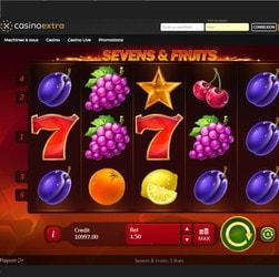 Casinos en ligne proposant la machine à sous Sevens & Fruits de Playson