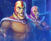 Machine à sous Lucha Maniacs du logiciel Yggdrasil disponible sur Casino Extra