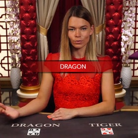 Table de baccarat Dragon Tiger