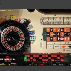 Table Draonara Roulette du casino de Malte