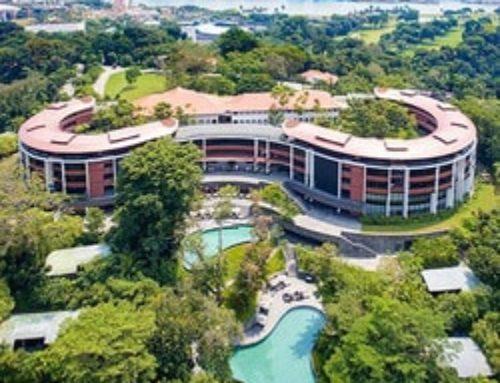 L'île de Sentosa à Singapour : Sommet à haut risque