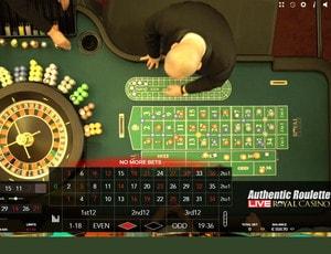 Roulette en ligne en direct du Royal Casino Aarhus Danemark