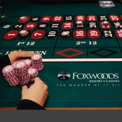 Live roulette en direct du Foxwoods Resort Casino