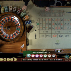 Table de roulette du Portomaso casino