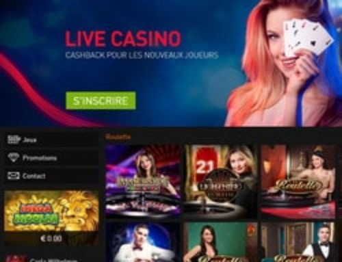Casino777 et ses jeux Evolution Gaming