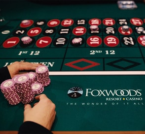 Roulette en ligne en direct du Foxwoods Resort Casino