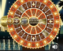 Machine a sous avec jackpot progressif Mega Fortune de Netent