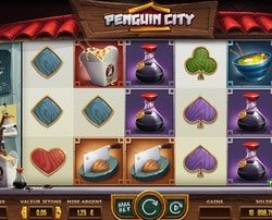 Machine a sous Pinguin City sur Lucky31 Casino