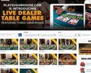 PlaySugarHouse est le tout premier casino en ligne Evolution Gaming aux USA