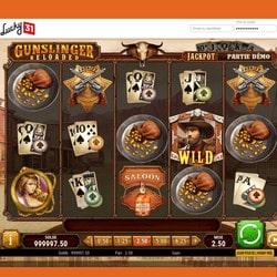 Lucky31 Casino intègre la machine a sous GunSlinger Reloaded de Play'n Go
